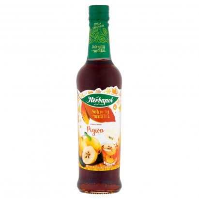 Herbapol Sekrety smaku Syrop o smaku pigwy 420 ml
