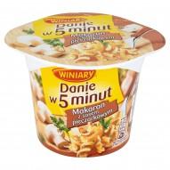 Winiary Danie w 5 minut Makaron z sosem pieczarkowym 50 g