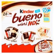 Kinder Bueno Mini Mix Wafel w czekoladzie 130 g (24 batony)