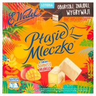 E. Wedel Ptasie Mleczko o smaku sorbetu mango 380 g