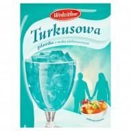 Wodzisław Turkusowa galaretka o smaku wieloowocowym 75 g