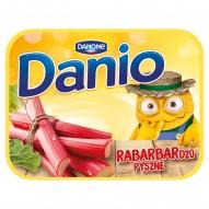 Danone Danio Serek homogenizowany z rabarbarem 135 g