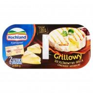 Hochland Grillowy ser pleśniowy Camembert naturalny i sos żurawinowy 265 g (2 x 100 g + 65 g)