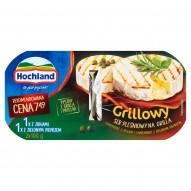 Hochland Grillowy ser pleśniowy Camembert z ziołami i z zielonym pieprzem 200 g (2 x 100 g)