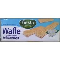 Fiesta Wafle śmietankowe 400g