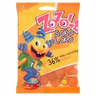 Zozole Soko Loko o smakach pomarańczowym brzoskwiniowym 75 g