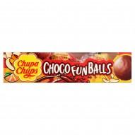 Chupa Chups Choco Fun Balls Pralinki z czekolady mlecznej z nadzieniem 30 g (3 sztuki)
