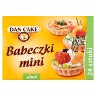 Dan Cake Babeczki mini słone 165 g (24 sztuki)