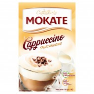 Mokate Caffetteria Cappuccino śmietankowe 150 g (10 x 15 g)