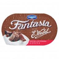 Danone Fantasia Gorzka Jogurt kremowy z kawałkami czekolady 104 g