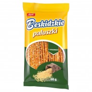 Aksam Beskidzkie Paluszki z sezamem 60 g