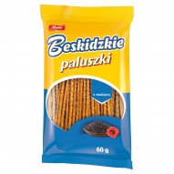 Aksam Beskidzkie Paluszki z makiem 60 g