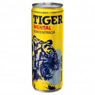 Tiger Mental Koncentracja Gazowany napój energetyzujący o smaku ananas 250 ml