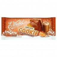 E. Wedel Cookie Czekolada mleczna z nadzieniem kawowo-pomarańczowym i herbatnikiem 290 g