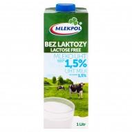Mlekpol Bez laktozy Mleko UHT 1,5% 1 l