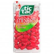 Tic Tac Mixers Drażetki o smaku arbuza mięty-limetki 18 g