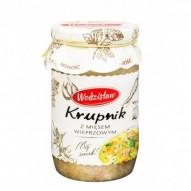 Wodzisław Krupnik z mięsem wieprzowym
