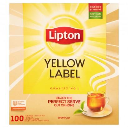 Lipton Yellow Label Herbata czarna 200 g (100 x 2 g)