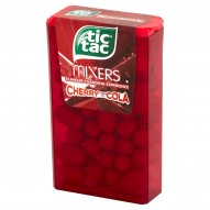 Tic Tac Mixers Drażetki o smaku wiśni i coli 18 g