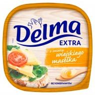 Delma Extra Margaryna o smaku wiejskiego masełka 450 g