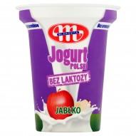 Mlekovita Jogurt Polski bez laktozy jabłko 310 g