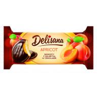 DELISANA - biszkopty z gal. morelową w czekoladzie 135g