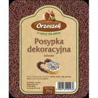 Orzeszek Posypka o smaku kakaowym 70g