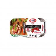 Mlekovita Ser Camembert na grill z sosem żurawinowym 230g (2x100g + 30g)