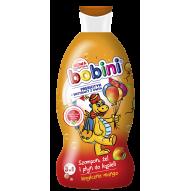 BOBINI Szampon, żel pod prysznic i plyn do kapieli 330ml Magiczne mango