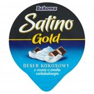 Bakoma Satino Gold Deser kokosowy z sosem o smaku czekoladowym 140 g
