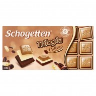 Schogetten Trilogia Coffee Biała czekolada 100 g