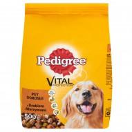 Pedigree Vital Protection z drobiem i warzywami Psy dorosłe Karma pełnoporcjowa 500 g