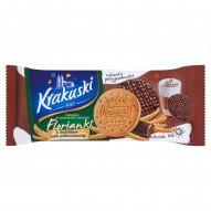 Krakuski Florianki Herbatniki w czekoladzie mlecznej 143 g