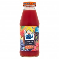 Bobo Frut 100% Sok wieloowocowy Z owocami leśnymi po 8 miesiącu 300 ml
