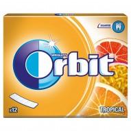Orbit Tropical Guma do żucia bez cukru 31 g (12 listków)