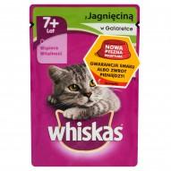 Whiskas z jagnięciną w galaretce Karma pełnoporcjowa 7+ lat 100 g