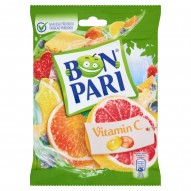 Bon Pari Vitamin C Dropsy owocowe z witaminą C 90 g