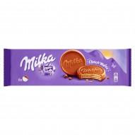 Milka Choco Wafer Wafelki z kremem kakaowym oblane czekoladą mleczną 180 g (6 sztuk)