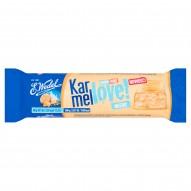 E. Wedel Karmellove! mleczny Batonik z solonymi orzeszkami arachidowymi i ciasteczkami 40 g