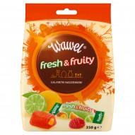 Wawel Fresh & Fruity Galaretki nadziewane 350 g