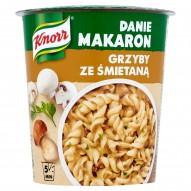 Knorr Danie Makaron Grzyby ze śmietaną 70 g