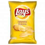 Lay's Naturalne Solone Chipsy ziemniaczane 80 g