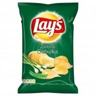 Lay's Zielona Cebulka Chipsy ziemniaczane 80 g