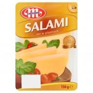 Mlekovita Salami Ser w plastrach 150 g