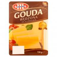 Mlekovita Gouda wędzona Ser w plastrach 150 g