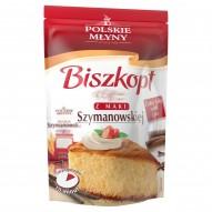 Polskie Młyny Biszkopt z mąki Szymanowskiej Mieszanka do wypieku ciasta 400 g