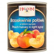 Helcom Brzoskwinie połówki w lekkim syropie 820 g