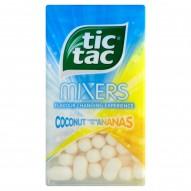 Tic Tac Mixers Drażetki o smaku kokosa i ananasa 49 g