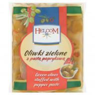 Helcom Oliwki zielone z pastą paprykową 195 g