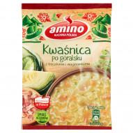 Amino Zupa błyskawiczna kwaśnica po góralsku z boczkiem i majerankiem 64 g